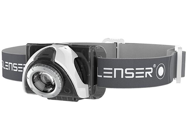 Led Lenser SEO 5 - Linterna frontal - gris